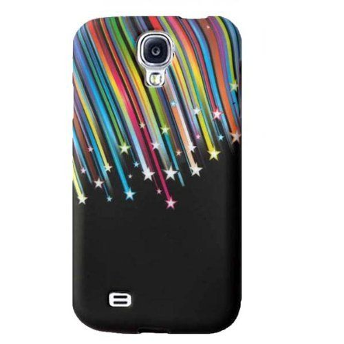 For Samsung Galaxy SIV S IV i9190 S4 Mini S 4 Stylish Flower Butterfly Silicone Rubber Gel Soft Mobile Phone Case Cover - black Colorful Shooting Star by BinaryTech, http://www.amazon.co.uk/dp/B00E5GHHEC/ref=cm_sw_r_pi_dp_iGMBsb0CZVY1X