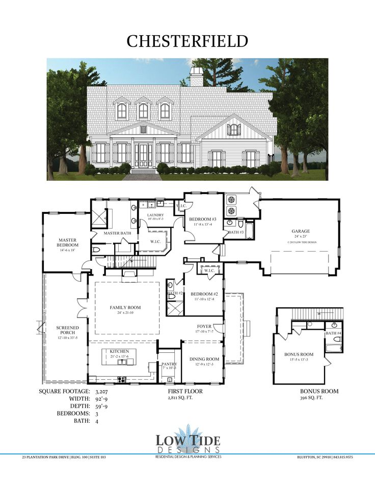 10 best house plans images on pinterest blueprints for for Low country floor plans