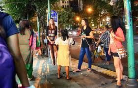 bangkok night street - Google Search