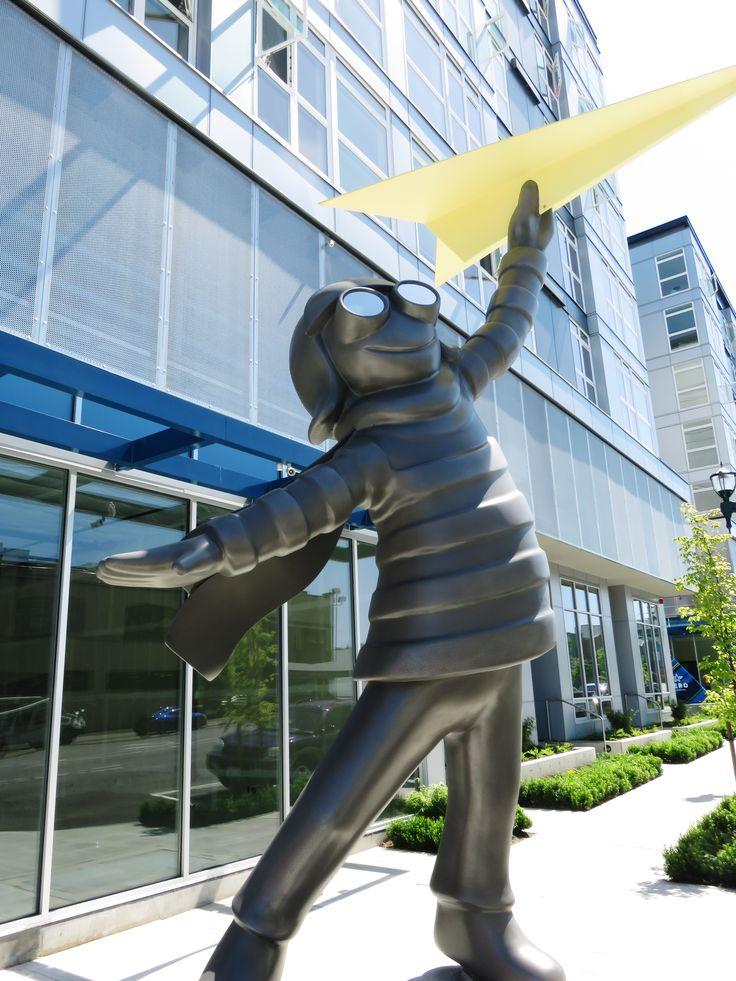 I love this statue in Everett, Washington