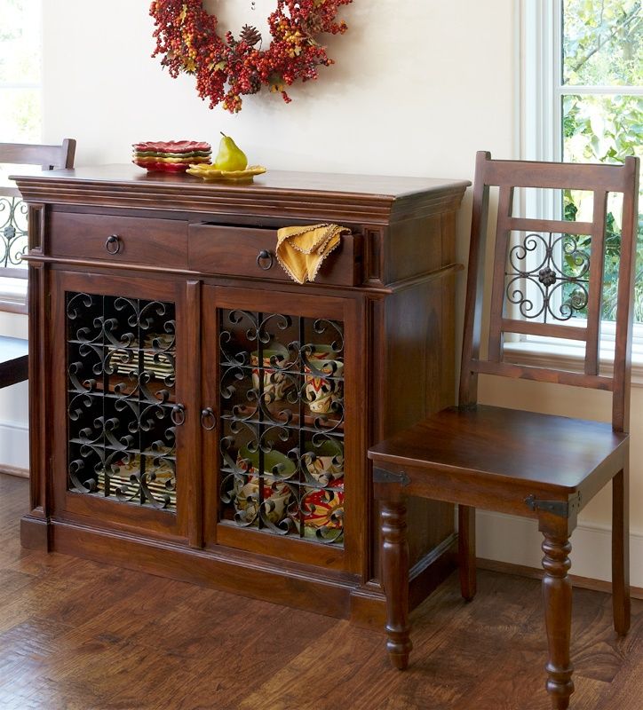 Store All The Essentials For A Long, Leisurely Dinner With The Pier 1  Indira Buffet