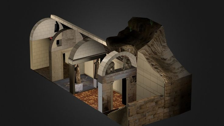 """Amphipolis Tomb by Greektoys.org (update)"" by magikos-fakos"