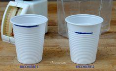Le misure del Bicchiere   Quanto pesa un bicchiere di farina? E di olio? E di zucchero? E ... Quante volte vi è capitato di trovare ricette con indicate qu