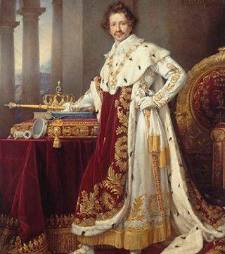 König Ludwig I. von Hofmaler Joseph Karl Stieler.