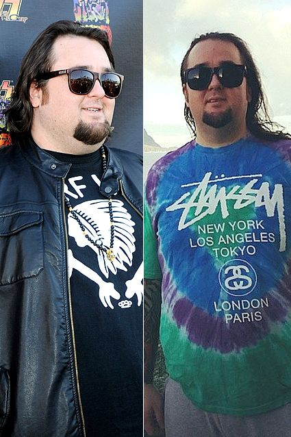 """Celeb Weight-Loss Transformations: Austin """"Chumlee"""" Russell (Pawn Stars) - 75lb weight loss"""