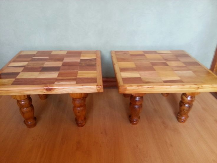 habdmade solid wood inaly tables