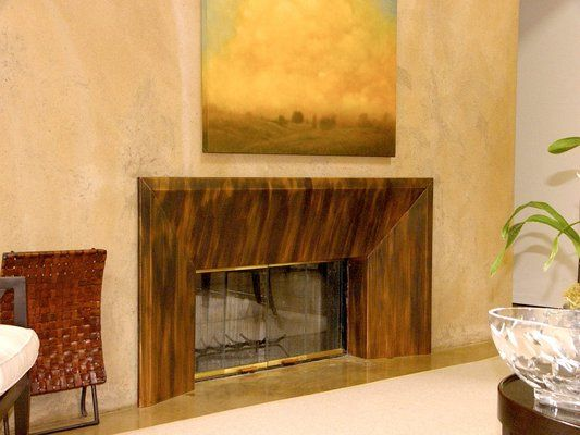 45 best Copper Fireplace Surrounds images on Pinterest Fireplace
