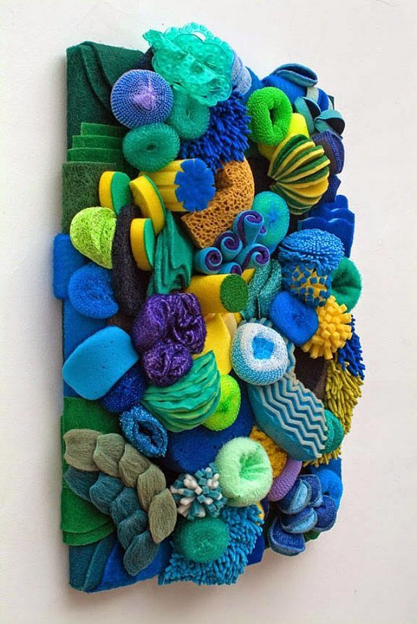 diy coral reef for classroom pinterest | Coral Reefs Made From Household…