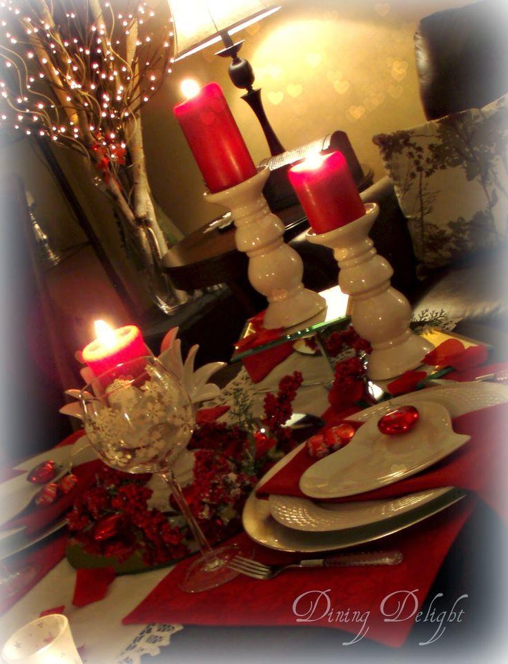 25 unique romantic dinner tables ideas on pinterest diy for Romantic valentine dinner menu ideas