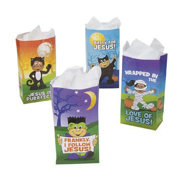 Little Boolievers  Christian Halloween treat bags.