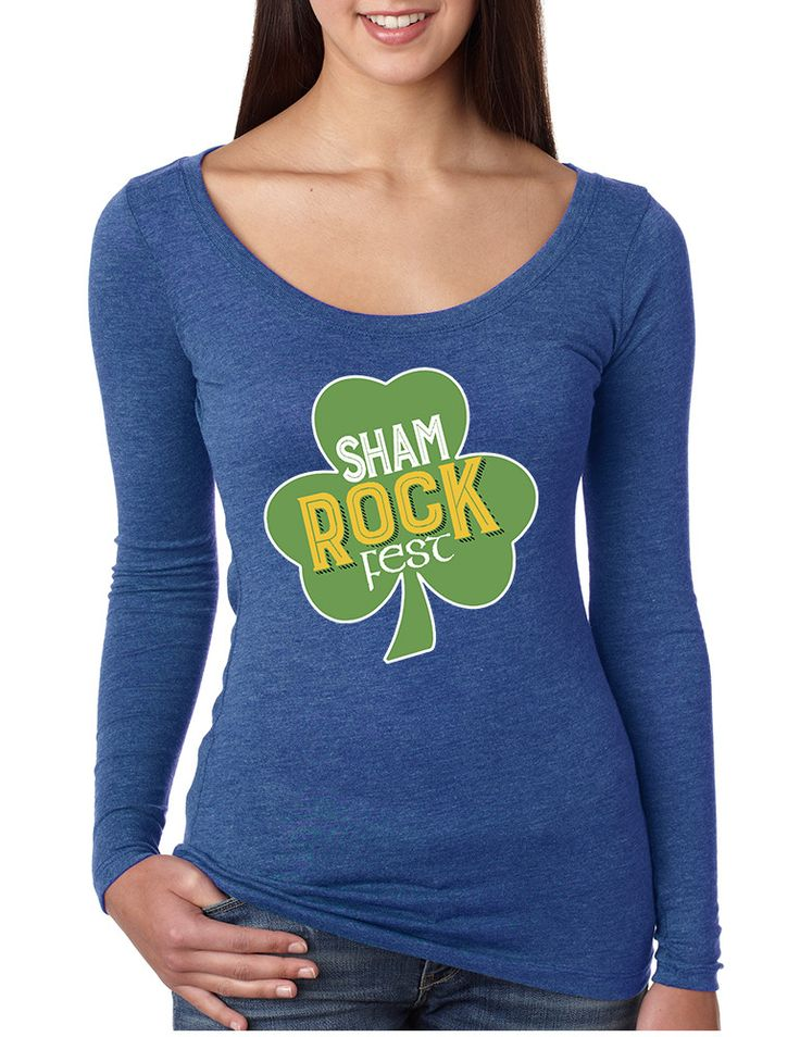 Women's Shirt Shamrock Fest St Patrick's Day Party Shirt