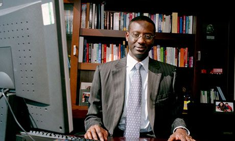 Tidjane Thiam of the Prudential displays thick hide