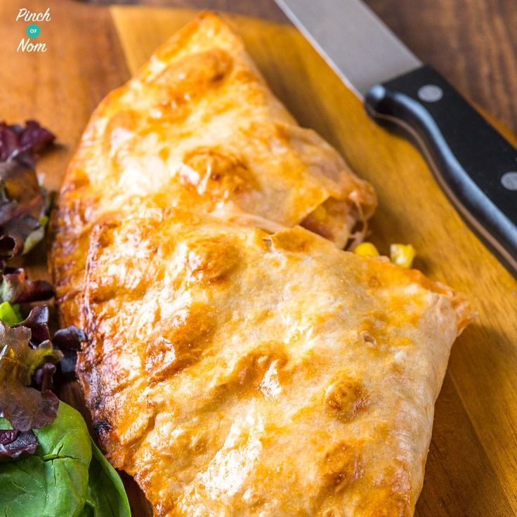 Syn Free Chicken and Sweetcorn Pizza Calzone | Slimming World