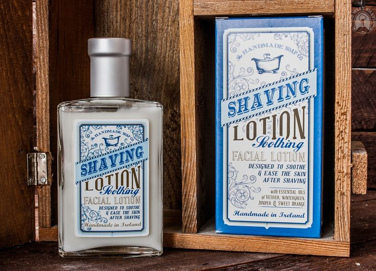 The Handmade Soap Co. - SHAVING LOTION Soothing Facial Lotion - 110g
