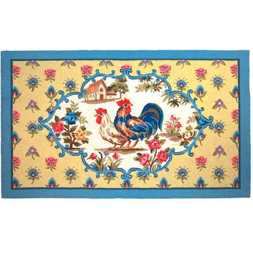 90 Best Images About Rooster Kitchen Rugs On Pinterest