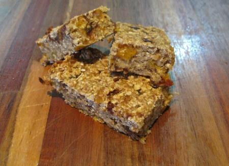 healthy oat bars