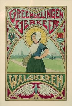 Artist Unknown poster: Vreemdelingen Verkeer (Tourist Information for Zeeland Province)