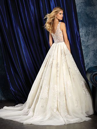 Alfred Angelo Bridal Style 968 from All Wedding Dresses