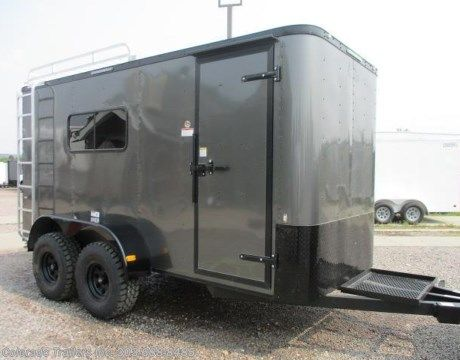 #14024 - 2018 Cargo Craft 6x14 Insulated Off Road Cargo Trailer  for sale in Castle Rock CO