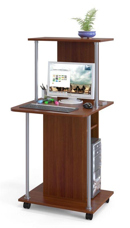 Стол компьютерный Дублин, испанский орех: фото, цена, купить дешево в Туле