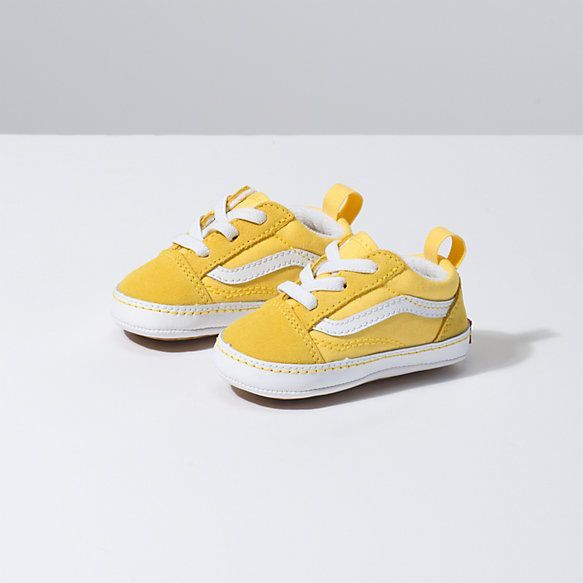Infant Vans Yacht Club Old Skool Crib Shop Kids Shoes At Vans Cute Baby Shoes Trendy Baby Shoes Girls Shoes Kids