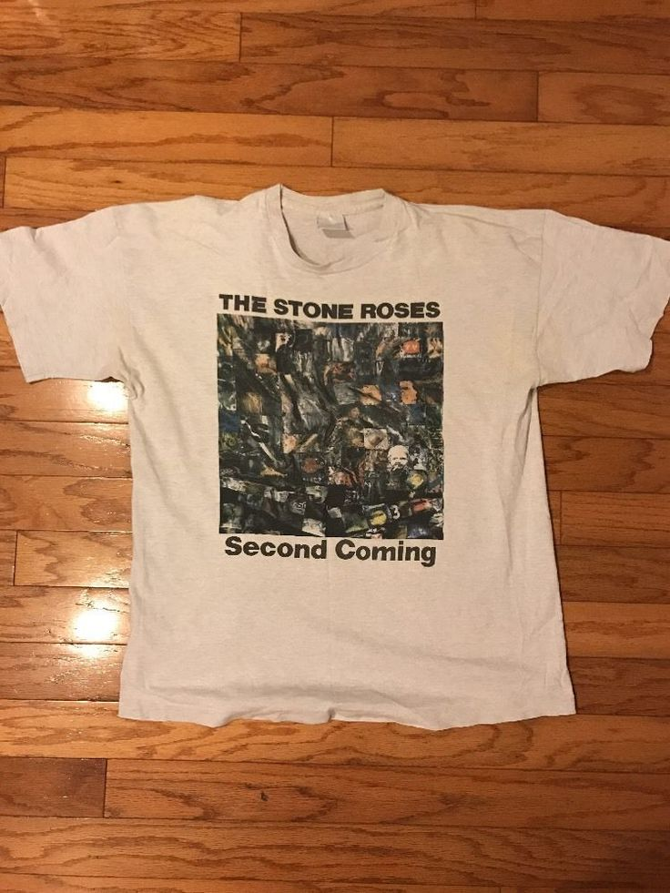 Vintage 90s The Stone Roses Second Coming Tour  Music Tee T-Shirt | Clothes, Shoes & Accessories, Men's Clothing, T-Shirts | eBay!