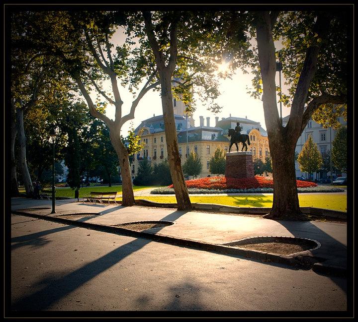 Széchenyi Square, Szeged (pr. seg-ed) #Hungary
