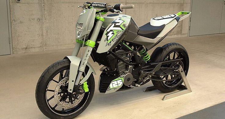 KTM Duke 125/200 concept