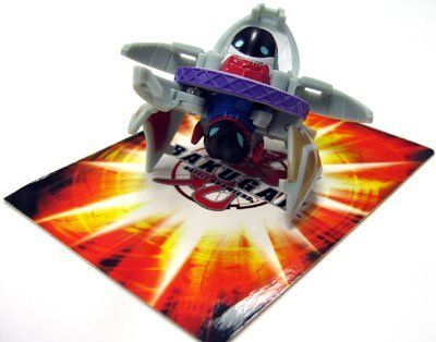 """Bakugan Battle Brawlers Special Attack Gray Preyas II - """"NOT"""" Randomly Picked, Shown As In the Picture! by Spin Master. $49.99. """"NOT"""" randomly picked, you are getting what is shown in the picture, - gray Preyas II. Special attack includes: 1 Bakugan, 1 ability cards, and 1 metal gate cards. Warning! Risk of serious digestive injuries in the event that magnets are swallowed!. Bakugan Battle Brawlers Special Attack series. For age 5 and up. Bakugan Battle Brawlers are here..."""