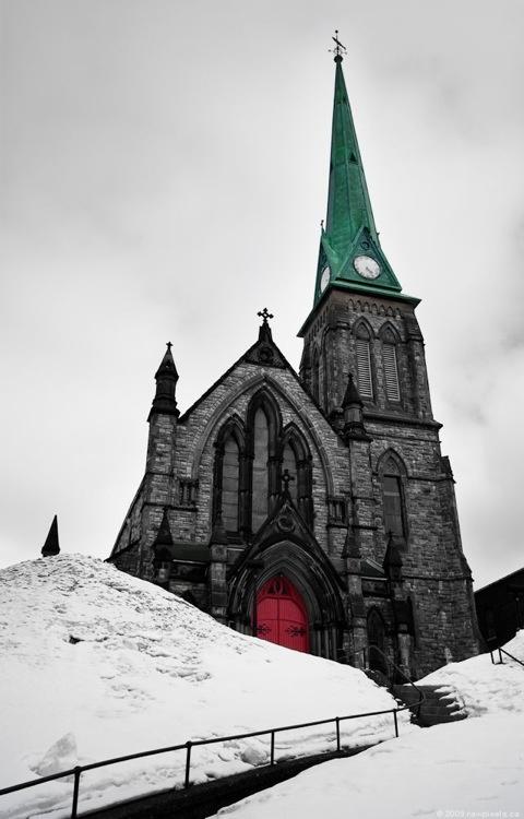 Canada - Trinity Anglican Church, Saint John, New Brunswick