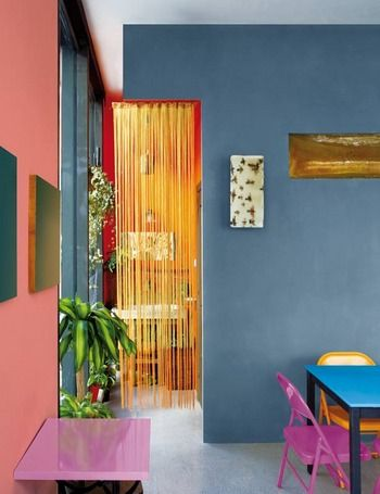 Fab combo of wall colour