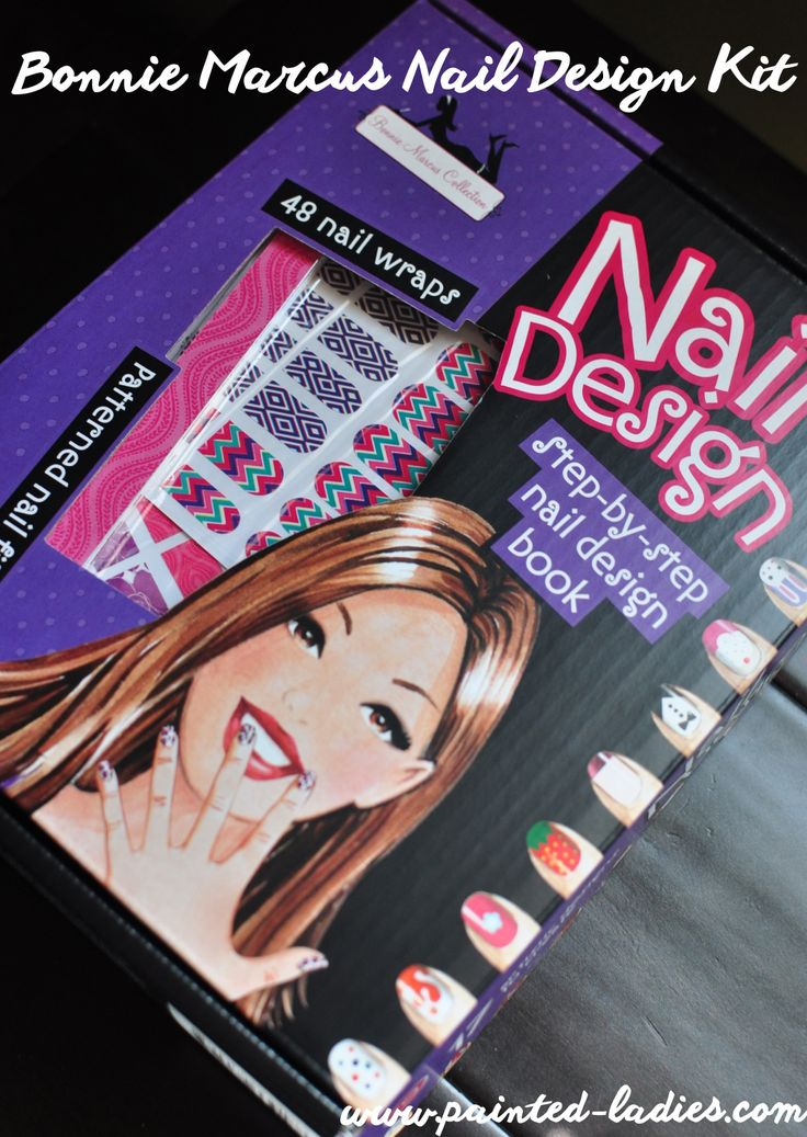 Bonnie Marcus Nail Design Kit: Thanks Painted Ladies for the great review of our Nail Design Kit! Enter to #win it here! Perfect gift for the holidays!