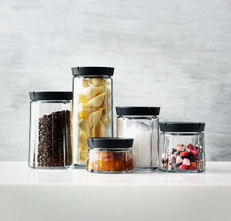 Pojemnik kuchenny - GRAND GRU - 0,75l || The jar is ideal for storage of products such as dried fruits, seeds, granola, coffee, or tea.