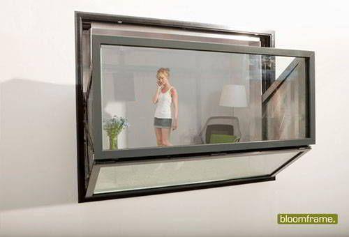 Bloomframe® la finestra che diventa balcone