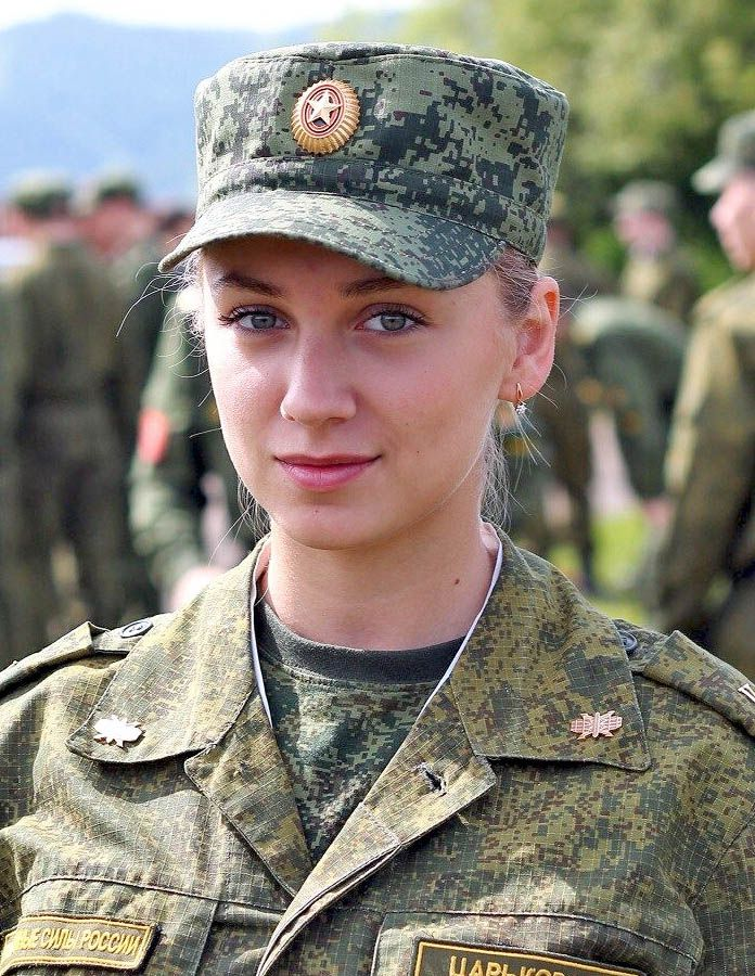 #russian #Russia Russian womans military Russian girls military - Russian army русские девушки военные - российская армия Kristina