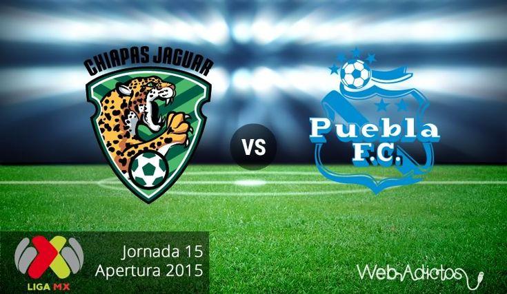 Jaguares vs Puebla, Jornada 15 del Apertura 2015 ¡En vivo por internet! - http://webadictos.com/2015/10/31/jaguares-vs-puebla-apertura-2015/?utm_source=PN&utm_medium=Pinterest&utm_campaign=PN%2Bposts