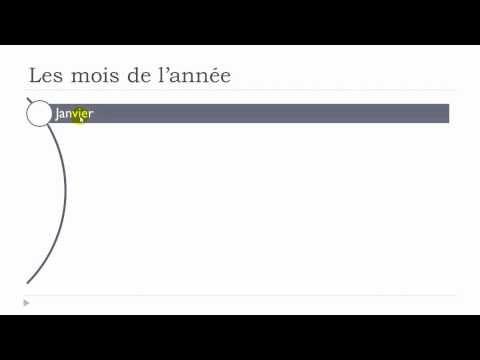 Learn French with Vincent - Unit 1 - Lesson M : Les jours et les mois - YouTube