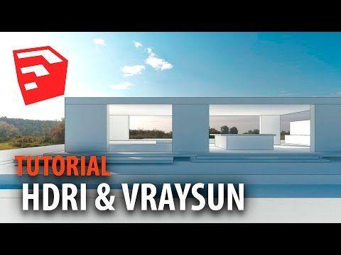 Curso SketchUp y VRay 04: HDRI & VRaySun