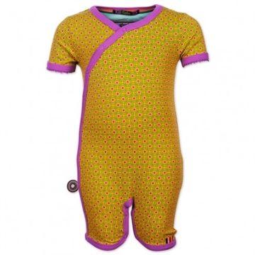 """""""Yellow Pearl"""" Heldragt med korte ærmer og ben er fra 4FunkyFlavours"""