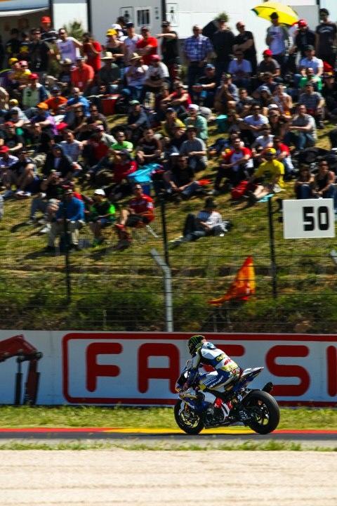 Chaz Davies - Team Bmw Motorrad - Round Aragon WSBK 2013