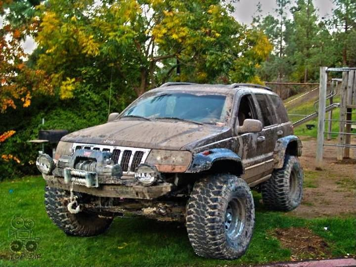 Jeep Grand Cherokee WJ mod