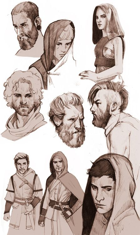 Some sketches. I really enjoy drawing in my sketchbook :) Need...