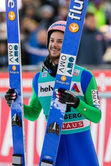 Manuel Fettner beim FIS Skispringen Weltcup in Engelberg | Bildjournalist Kassel