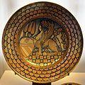 Deruta, piatto con sfinge che tiene uno stemma orsini, 1520-30 ca..JPG