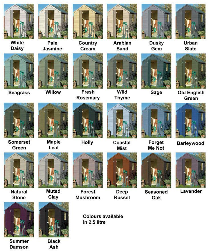Cuprinol Garden Shades 2.5L | All Colours Stocked |Garden Shades Paint