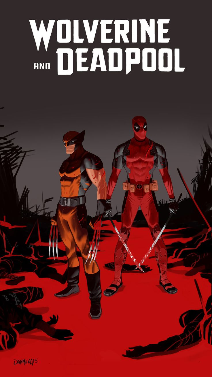 Wolverine and Deadpool by Dan-Mora                                                                                                                                                      More
