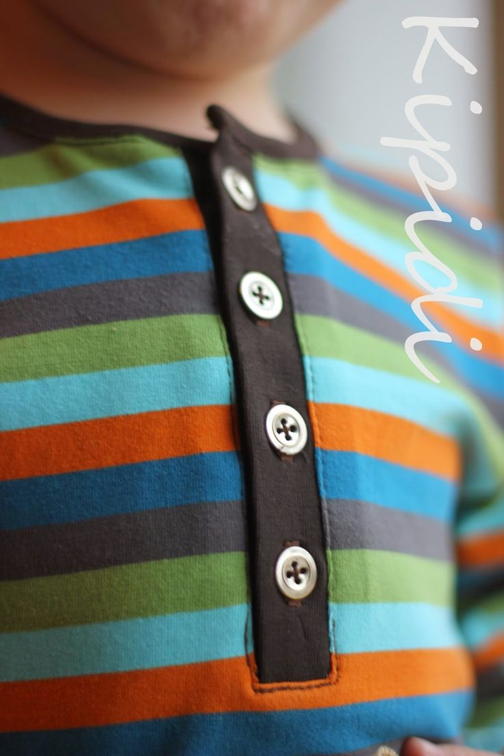 Metal button shirt