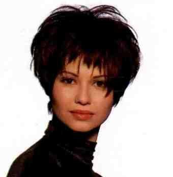 стрижка с короткой челкой для волнистого волоса - Поиск в Google