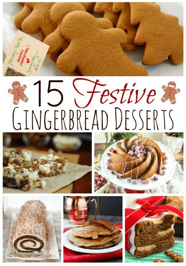If you are searching for the perfect gingerbread dessert to make for Christmas this year, you will love these 15 festive gingerbread recipes.
