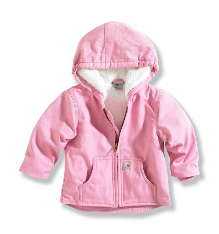Baby girl pink Carhartt jacket.